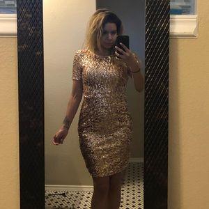 Classy Midi Sequin Dress